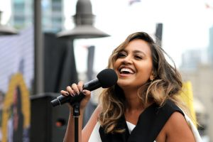 Sony-Music-artist-and-Sony-Foundation-ambassador-Jessica-Mauboy-singing-her-hits-300x200
